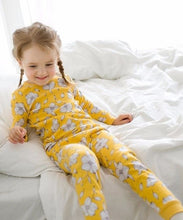 Yellow Bloom Long Sleeve PJ's