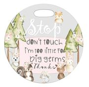 Woodland Critters Stroler Sign