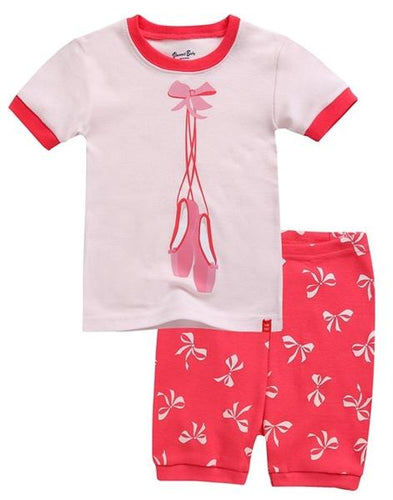 Ballet Shoes Short Sleeve Pajama Set