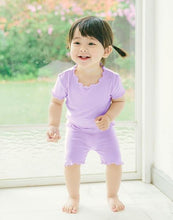 Shirring Loungewear Set - Light Purple