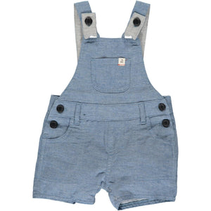 April PRE-ORDER Bowline Shortie Overalls - Chambray