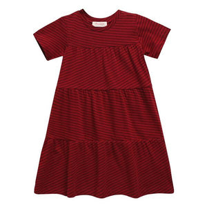 May Dress- Red Line