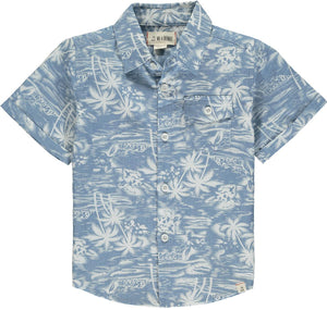 Newport Short Sleeve- Chambray Surfer