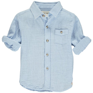 Merchant Long Sleeve- Pale Blue