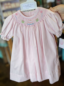 Petit Ami Birthday Smocked Dress