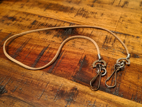 Leather Cord Mask-Lanyard
