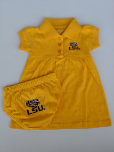 LSU Polo Dress