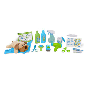 Wash & Trim Dog Groomer Play Set