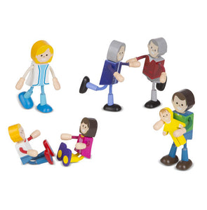Wooden Flexible Figures - 3 styles