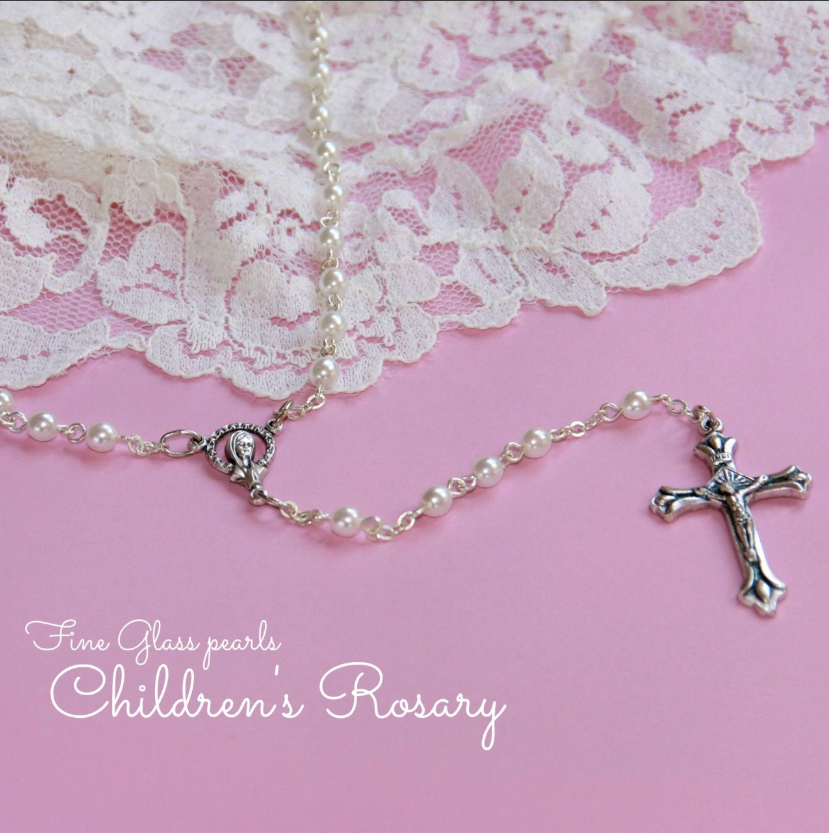 Children's Pearl Rosary
