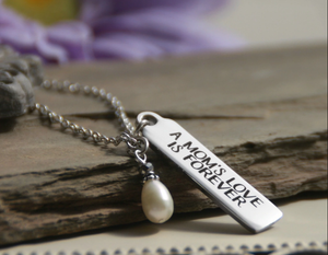 A Moms Love is Forever Necklace