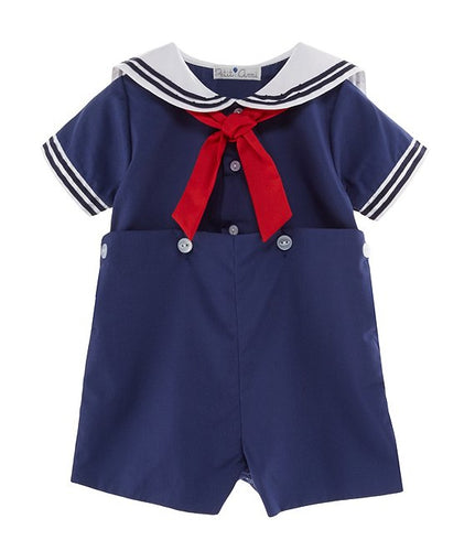 Petit Ami Sailor Suit Shortall