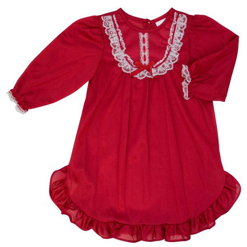Traditional Nightgown - red