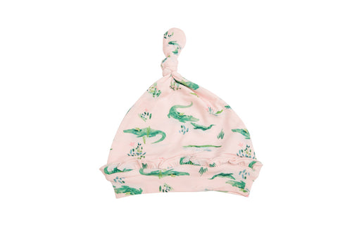 Gators Knotted Hat- Pink