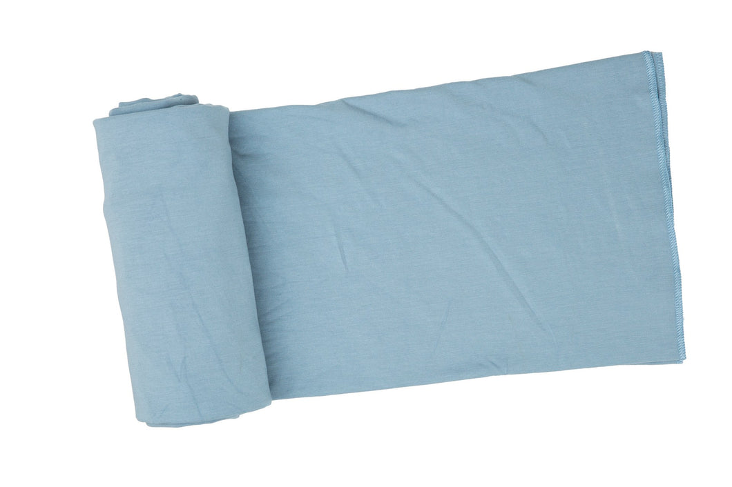 Solid Basic Swaddle Blanket- Blue