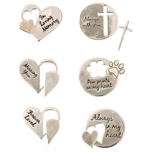 Memorial Silver Wish Tokens- 6 Designs