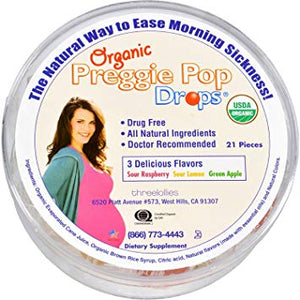 Organic Preggie Drops, Assorted - 21 count