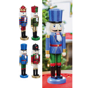 Wooden Nutcracker Sitabout