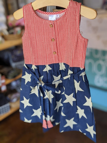 Yo Baby - Stars & Stripes Dress