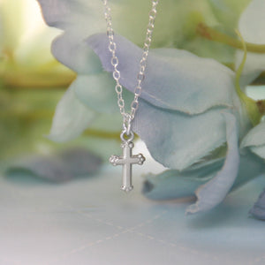 Infant Cross Classic Necklace