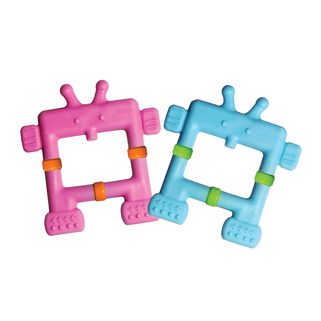 TEETHIN' SMART™ EZ GRIP TEETHER ROBOT