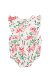 Rose Garden Ruffle Sunsuit- Multi