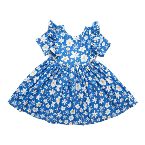 Just Daisy Short Sleeve Ruffle Twirl Dress