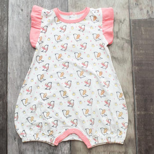 Bestaroo Birds and Bees Flutter Romper