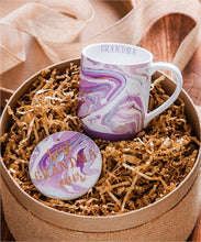 """Best Mom/Grandma Ever"" Ceramic Cup/Coaster gift set- in stock"