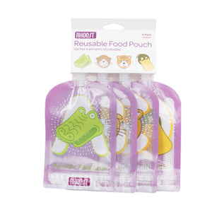 Rhoost 4pk Reusable Food Pouch