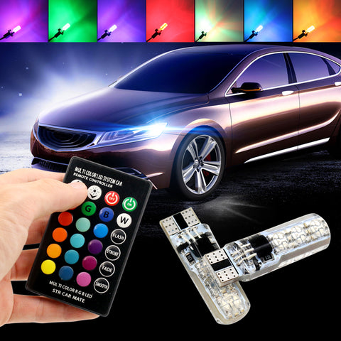 Colourful car led light  bulb