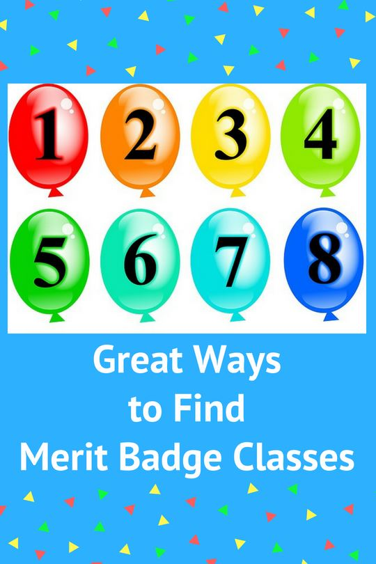 8 Great Ways to Find Merit Badge Classes