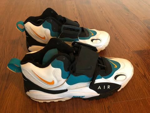 52808e069e4 Nike Air Max Speed Turf Miami Dolphins Dan Marino Sneakers (13 ...