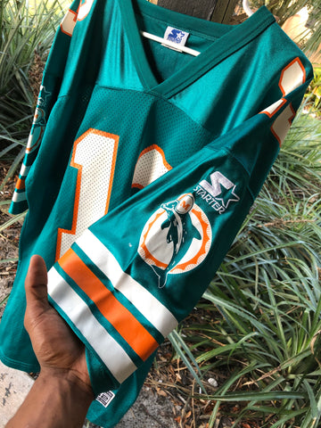 new style 83e81 9bc17 Vintage Miami Dolphins Dan Marino NFL Starter Jersey sz Xl ...