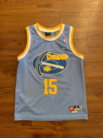 reputable site 018ba 0f1e4 Carmelo Anthony Nuggets stitched kids jersey sz M adults Xs ...