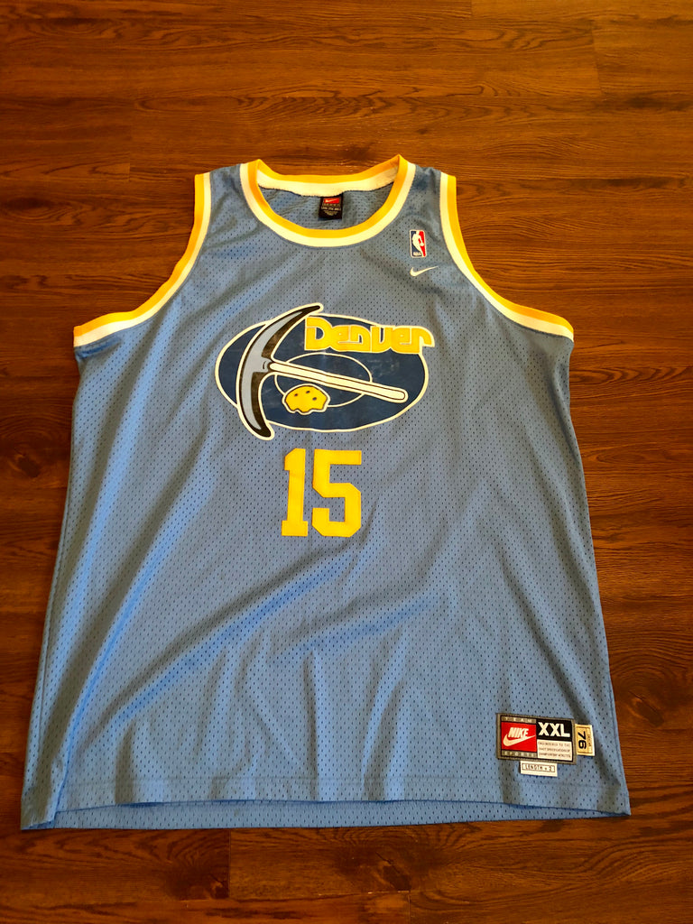 218945bd22f discount nike carmelo anthony denver 15 nuggets vintage jersey sz xxl c7257  bfcd3