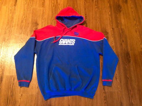 Very clean New York Giants Nfl Red Blue hoody sz Adults L 03b4894a0