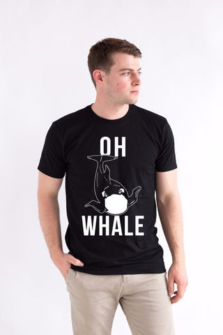 Oh whale funny shirt