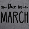 Due In March Maternity Tshirt
