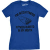 Fitness Burrito Women's Tshirt - womens t-shirts - CrazyDog T-Shirts
