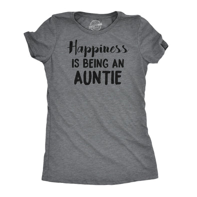 Happiness is Being an Auntie Women's Tshirt
