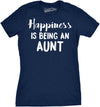 Happiness is Being an Aunt Women's Tshirt