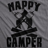 Happy Camper Women's Tshirt