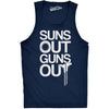 Suns Out Guns Out Men's Tank Top