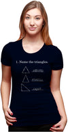 Name The Triangles Women's Tshirt