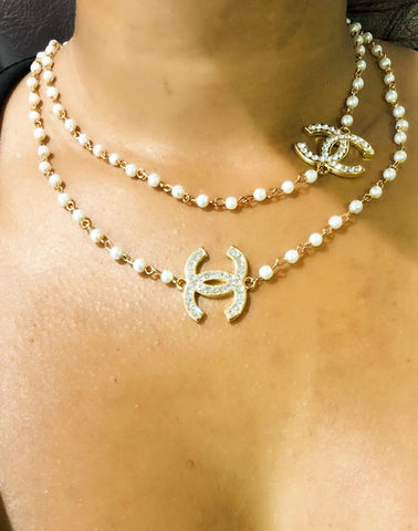 Chic Couture Pearl Chain