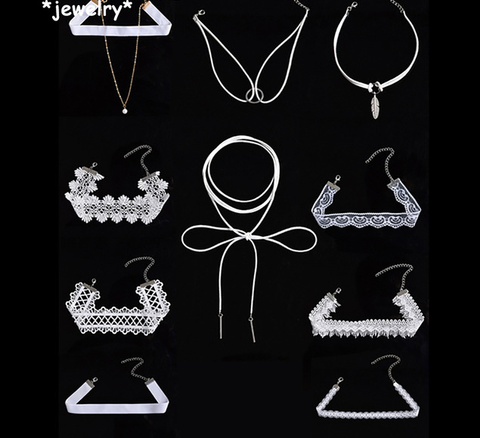 10pc White Choker Set