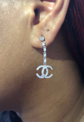 Chic Couture Drop Earrings