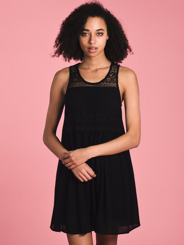 WOMENS WOMENS PENNY CROCHET DRESS - CLEARANCE