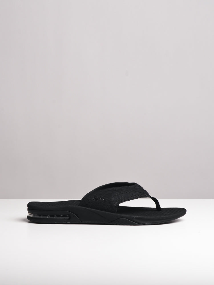 b390d362c1aa MENS FANNING ALL BLACK SANDALS